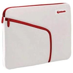 """Borsa Nb E Tablet 7"""" Atlantis P004-k837-a9-7  Mod. Philo-bianco+zip Rossa-tasca Laterale Per Accessori  Ean 8026974016160"""