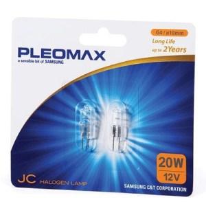 Lampada Alogena Pleomax/samsung G4 Per Faretto 20w  Blister Da 2pz 8-801790381476