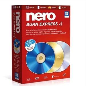 Nero Burn Express 4 - Software Di Masterizzazione - 11450000/1474