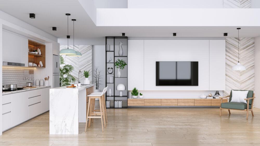 Un tipo di arredamento moderno ideale per una casa piccola. Risposte Alle Domande Su Come Arredare Una Casa Moderna Generazione Post