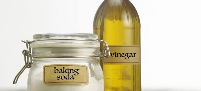 Usi creativi per aceto e bicarbonato di sodio