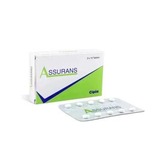 Assurans 20 Mg Tablet