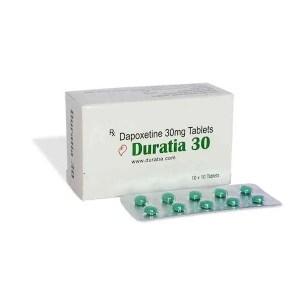 Duratia 30mg Dapoxetine