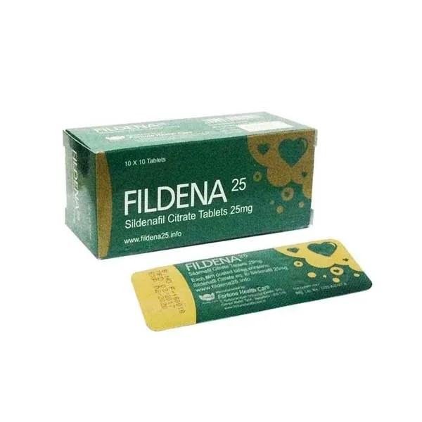 Fildena 25 mg tablet