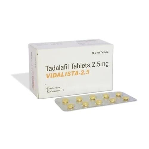 Vidalista 2.5mg (Tadalafil)