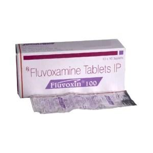 Fluvoxin 100mg Tablet (Fluvoxamine)