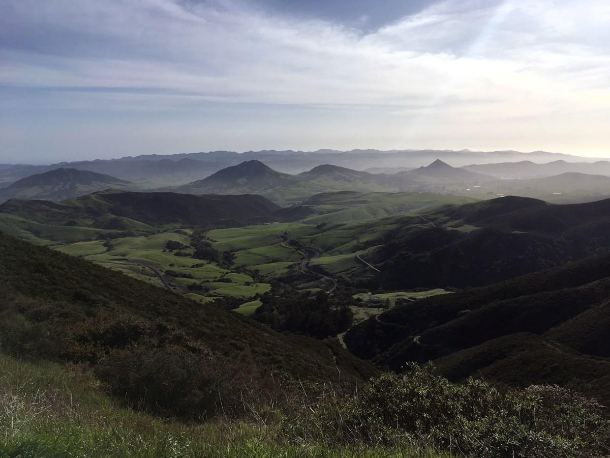 Generic Van Life - Central California San Luis Obispo View