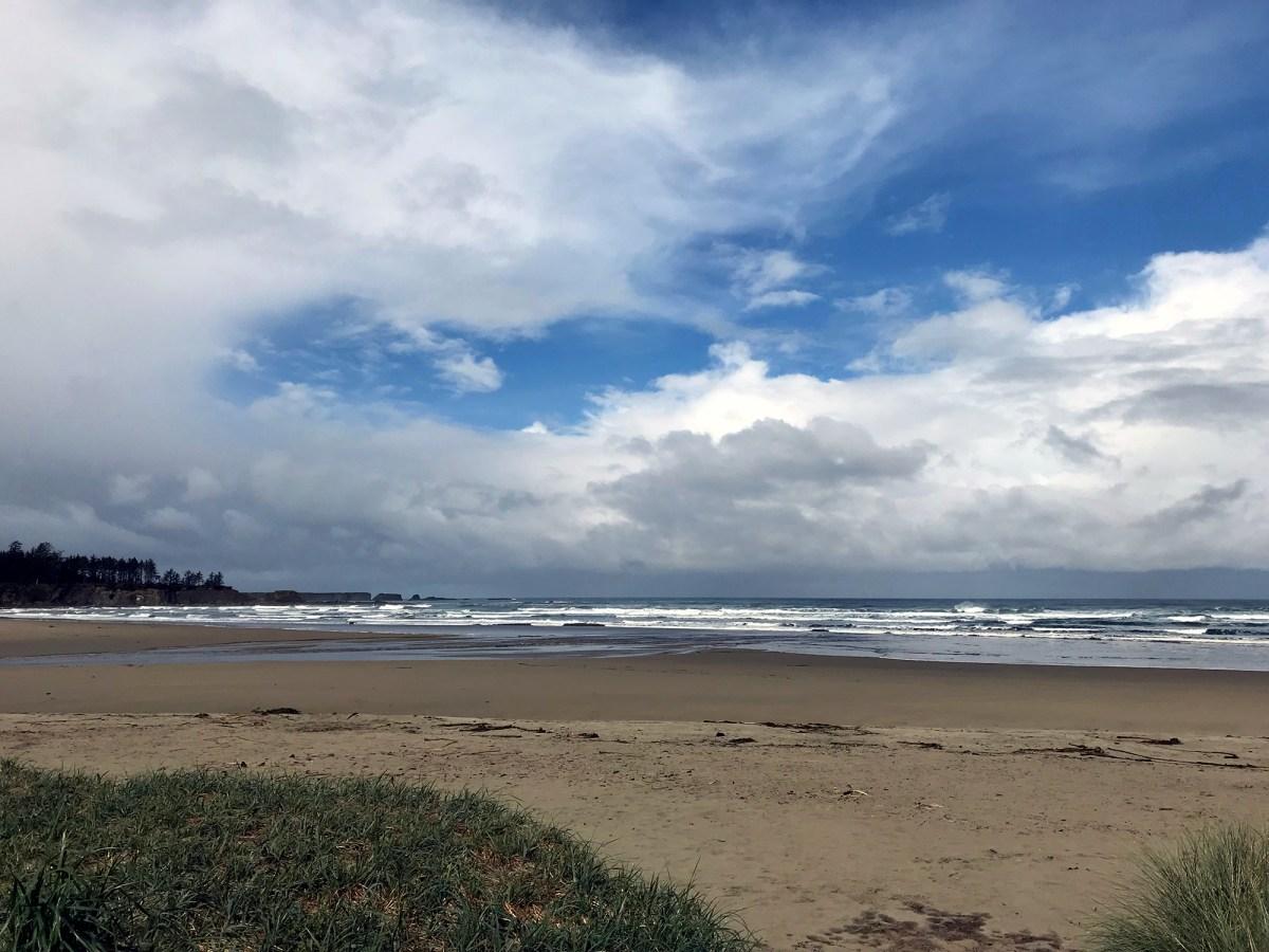 Generic Van Life - Oregon Bastendorff Beach