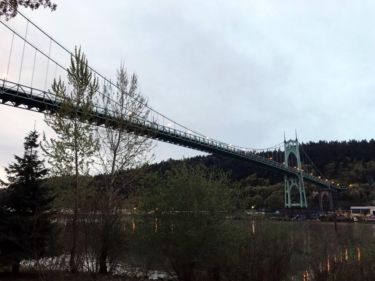Generic Van Life - Oregon Portland Bridge