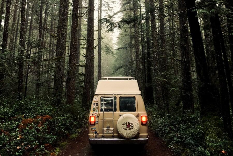 Generic-Van-Life-Camping-Spot-Big-Bay-British-Columbia-Road