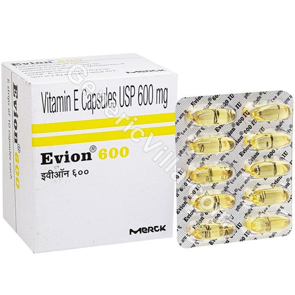 Evion 600mg (Vitamin E) - Generic Villa