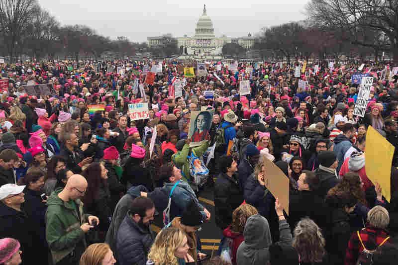 womens march npr