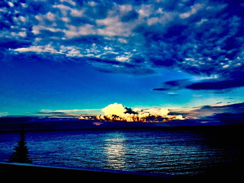 Lake Superior at Paradise, MI