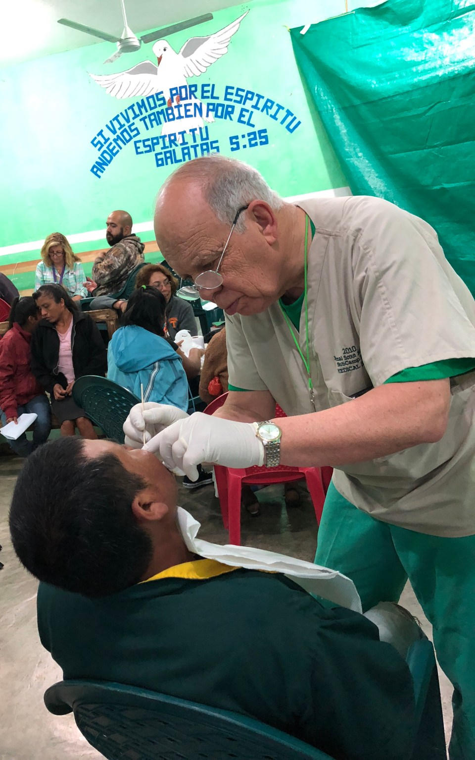 My personal physician, Paul Brown, Jr.,MD., has lead a mission team to Mexico for over thirty years.