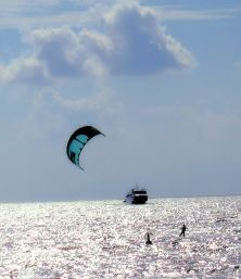 Parasailing in Naples