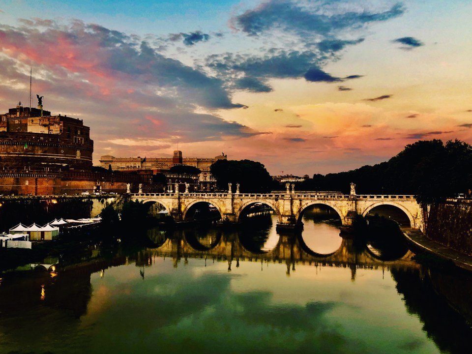 Roman bridge.