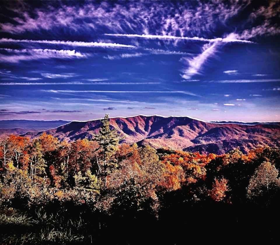 Blue Ridge Parkway. 28 October 19.