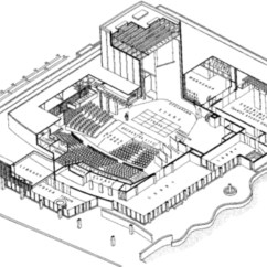 Proscenium Stage Diagram Box 6 Pin Cdi Wiring Theatre Spaces Part 3 Loeb Used By American Repertory In Cambridge Ma