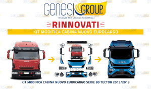 KIT RESTYLING NUOVO EUROCARGO SERIE 80 TECTOR 2015/2019
