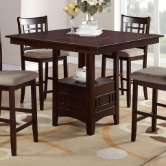 Kitchen Table With Leaf Insert Large Round Sets F2345 5pc Dinette  Genesis Furniture