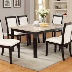 White Tufted Chair Seat Covers Real Marble Top Dining Table By Poundex F2296 – Genesis Furniture