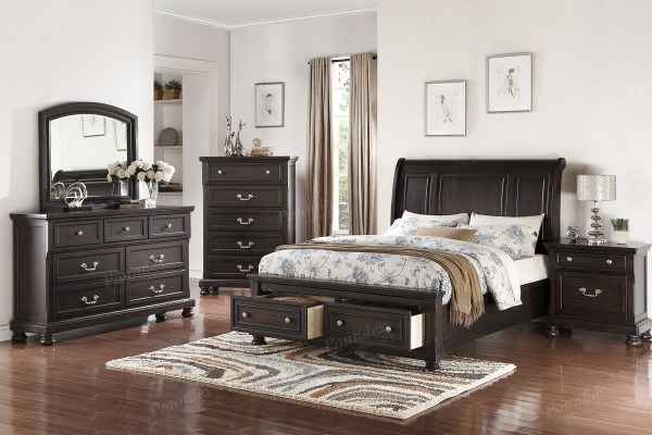 poundex bedroom furniture 9290 King Bedroom Set by Poundex Furniture – Genesis Furniture