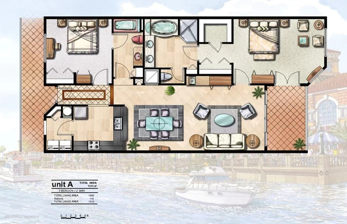Floor Plans and Elevations  Architectural Illustration
