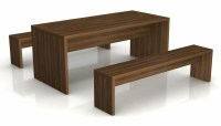 Cafe Bench Tables And Bench Seats