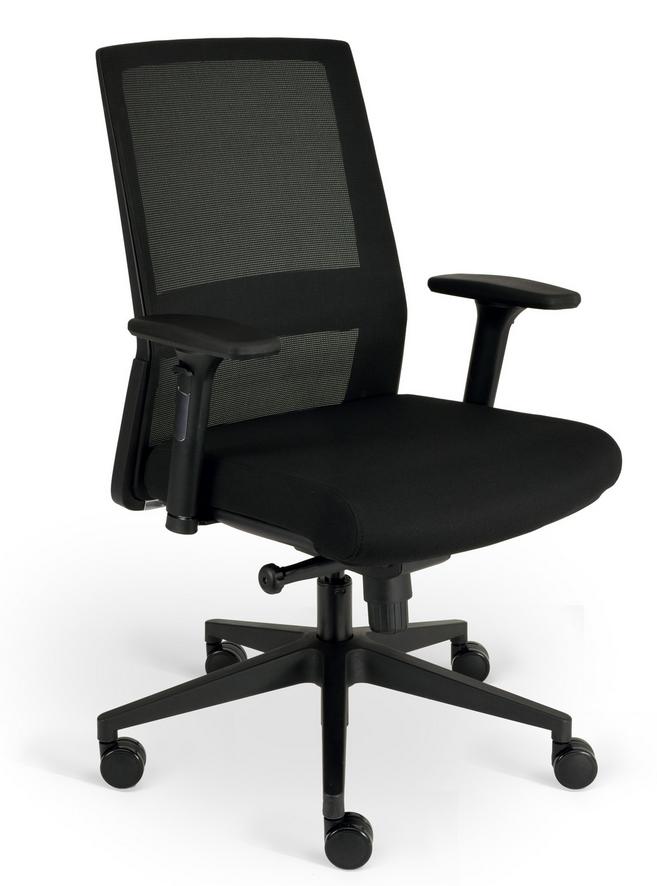 office chair lumbar support mesh recliner chairs brisbane nero back task