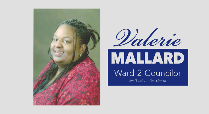 Geneva Council candidate Valerie Mallard dealing with health issues