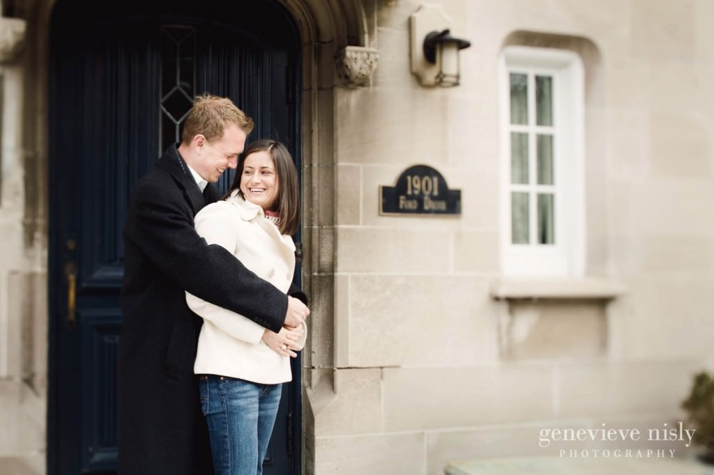 Cleveland, Copyright Genevieve Nisly Photography, Engagements, Glidden House, Ohio, Winter