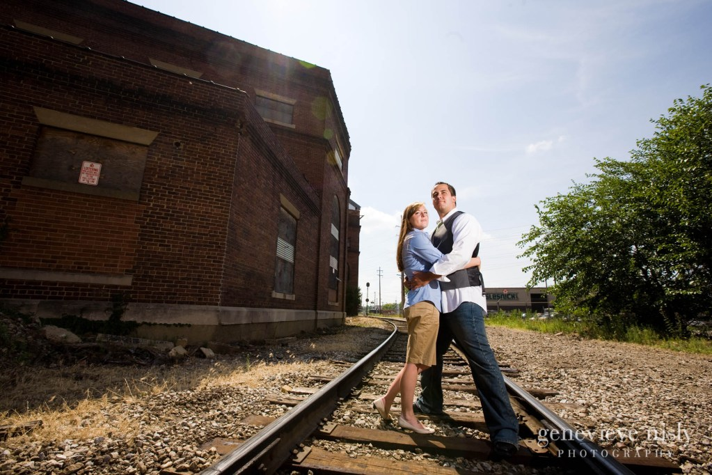 Canton, Copyright Genevieve Nisly Photography, Engagements, Ohio, Summer, Wedding