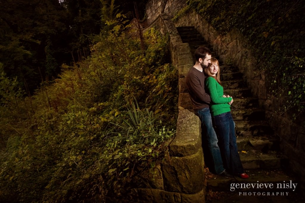 Akron, Copyright Genevieve Nisly Photography, Engagements, Fall, Ohio