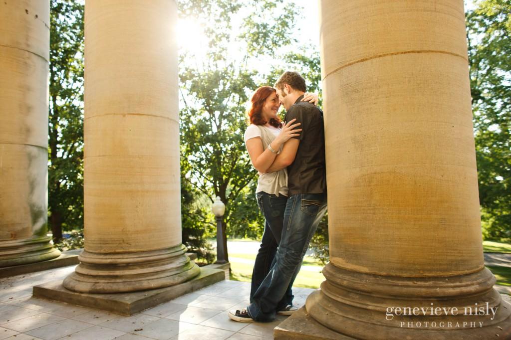 Copyright Genevieve Nisly Photography, Engagements, Kent, Ohio, Summer