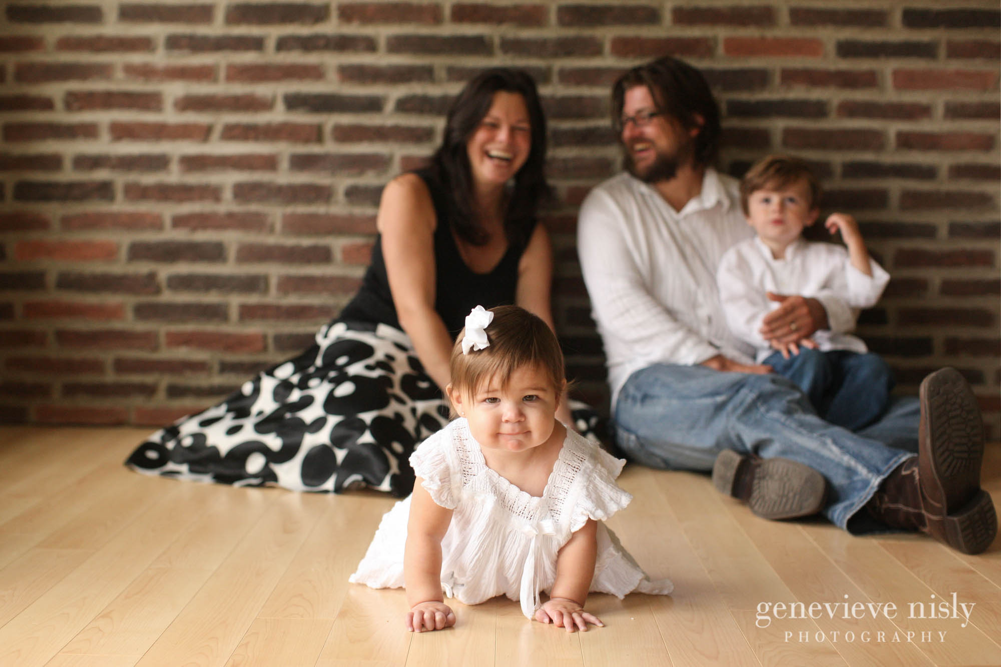 Copyright Genevieve Nisly Photography, Family, Green, Kids, Ohio, Portraits