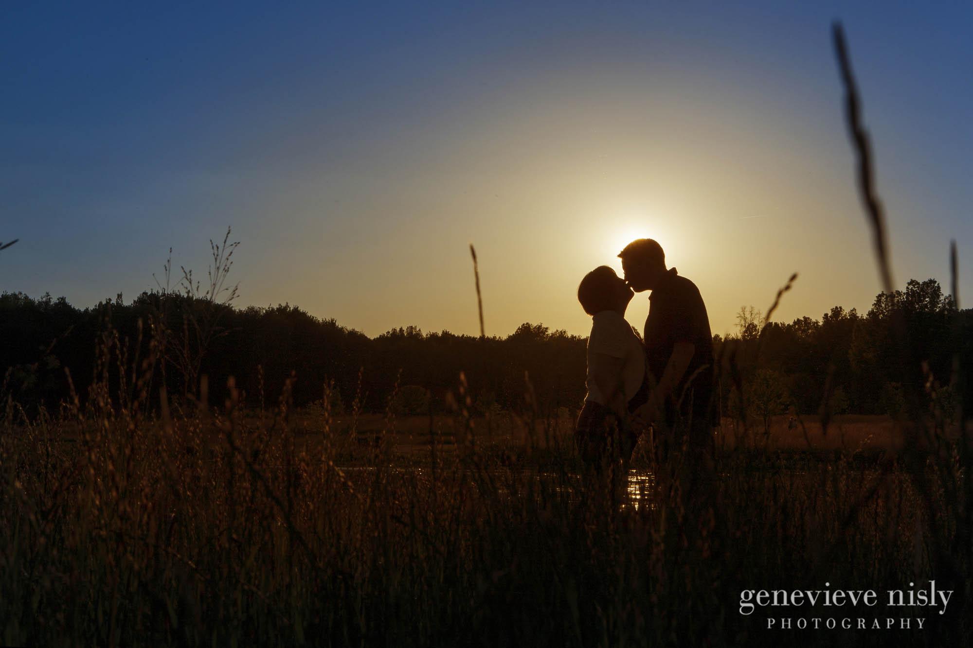 Baby, Copyright Genevieve Nisly Photography, Family, Green, Ohio, Portraits, Summer