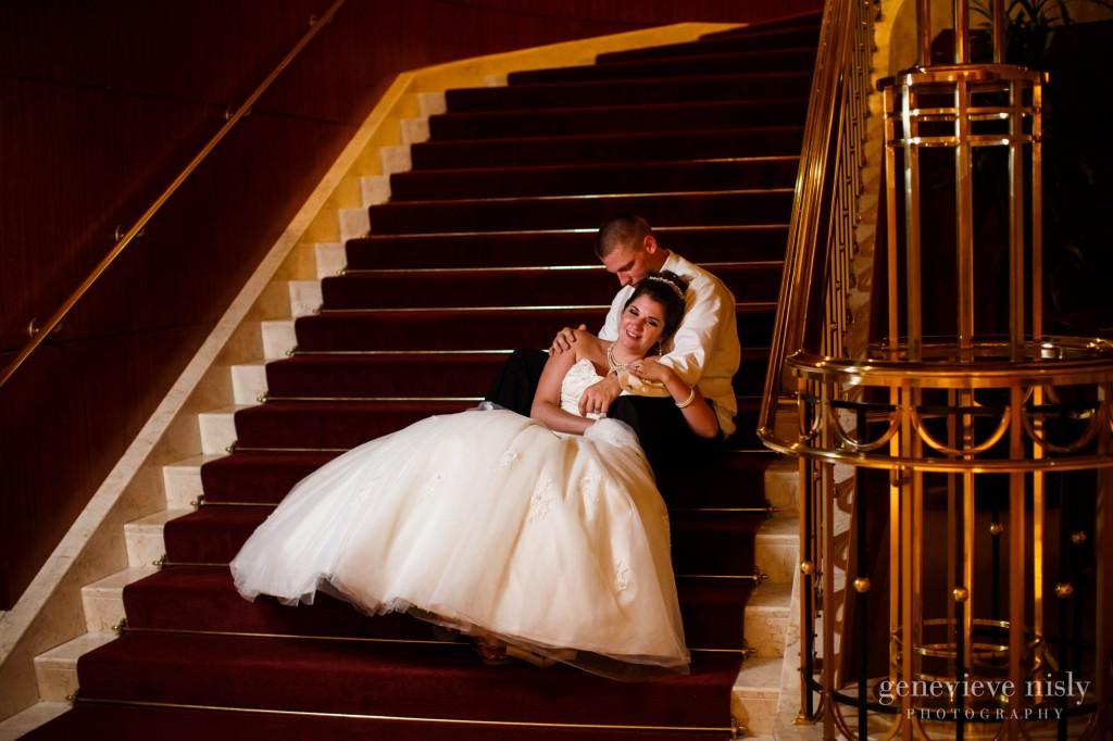 Cleveland, Intercontinental Hotel, Ohio, Summer, Wedding