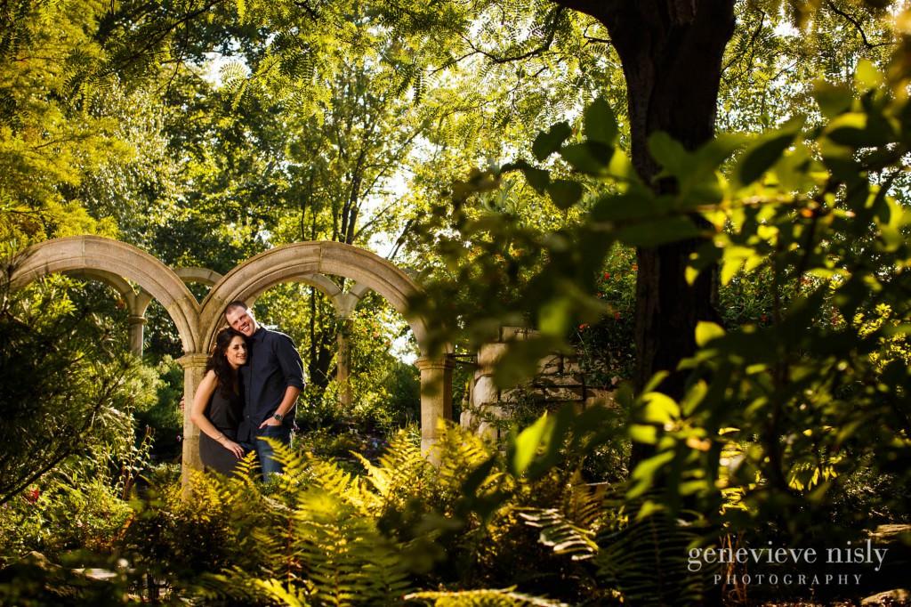 Botanical Gardens, Cleveland, Copyright Genevieve Nisly Photography, Engagements, Ohio, Summer