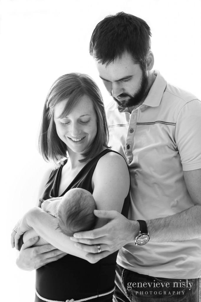 Family, Green, Newborn, Portraits, Studio