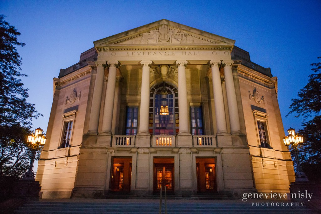 Copyright Genevieve Nisly Photography, Severance Hall, Wedding