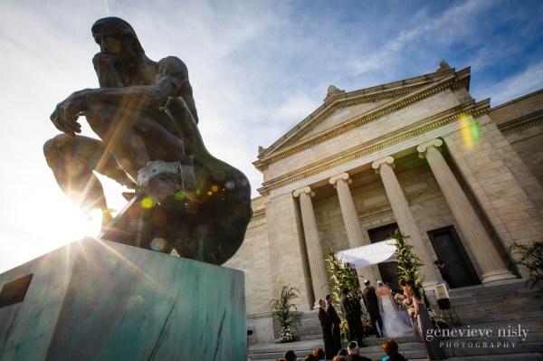 Cleveland Museum Of Art Wedding - Evan & Katie Genevieve Nisly