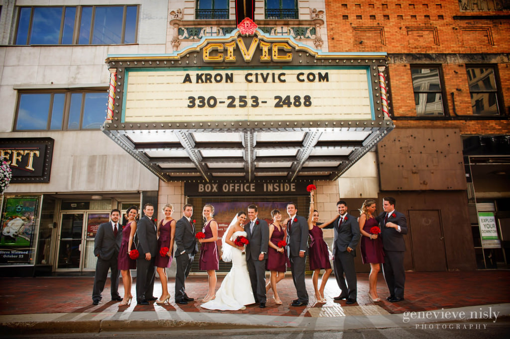 Akron, Copyright Genevieve Nisly Photography, Fall, Wedding