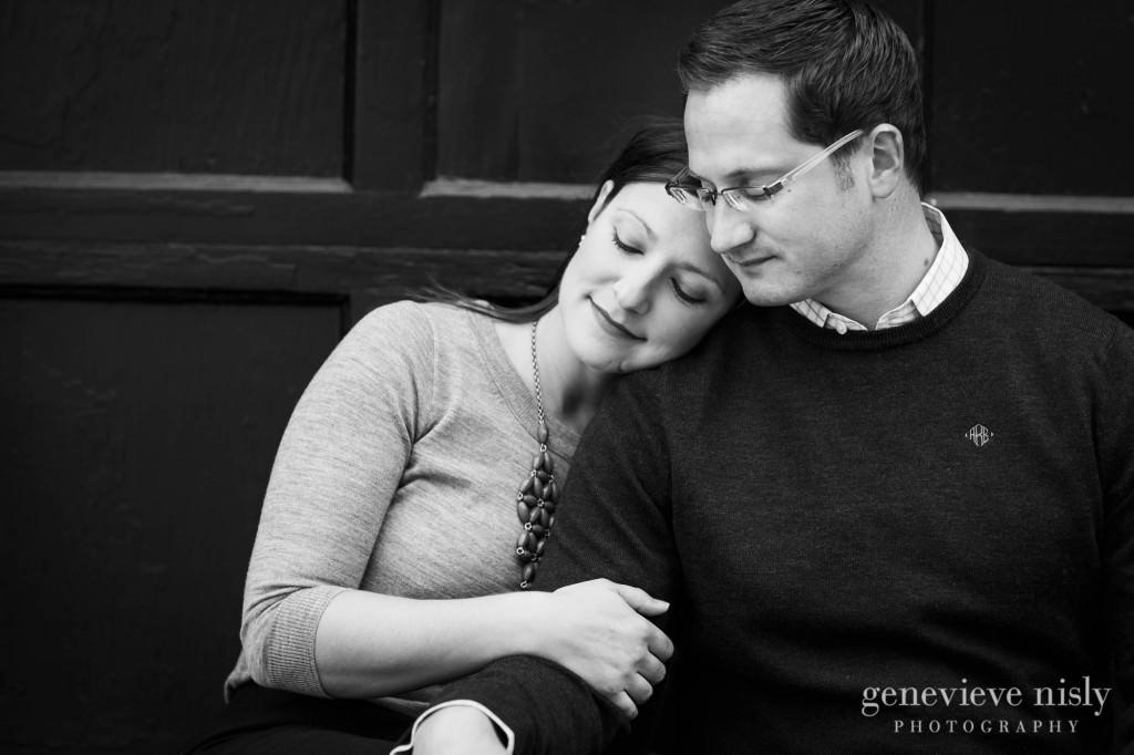 Cleveland, Copyright Genevieve Nisly Photography, Engagements, Fall, Ohio City