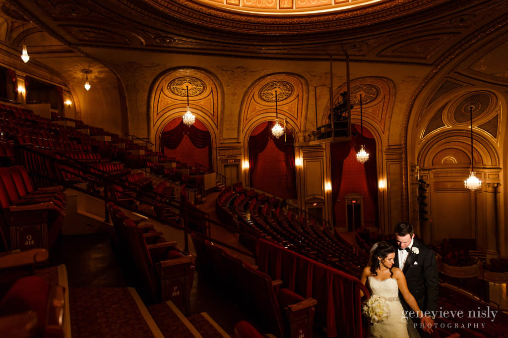 Cleveland, Copyright Genevieve Nisly Photography, Ohio, Palace Theater, Spring, Wedding