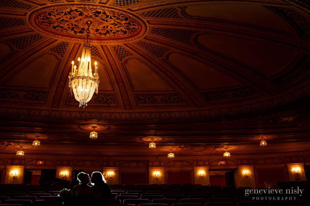 Cleveland, Copyright Genevieve Nisly Photography, Ohio, Palace Theater, Summer, Wedding