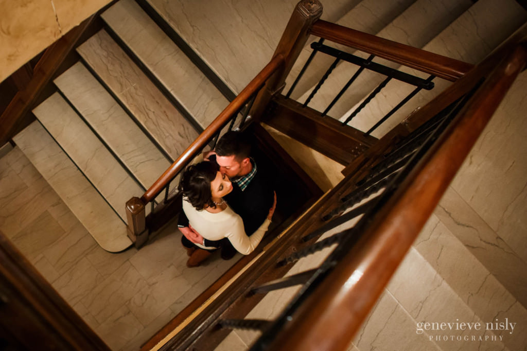 Canton, Canton Club, Copyright Genevieve Nisly Photography, Engagements, Ohio, Winter