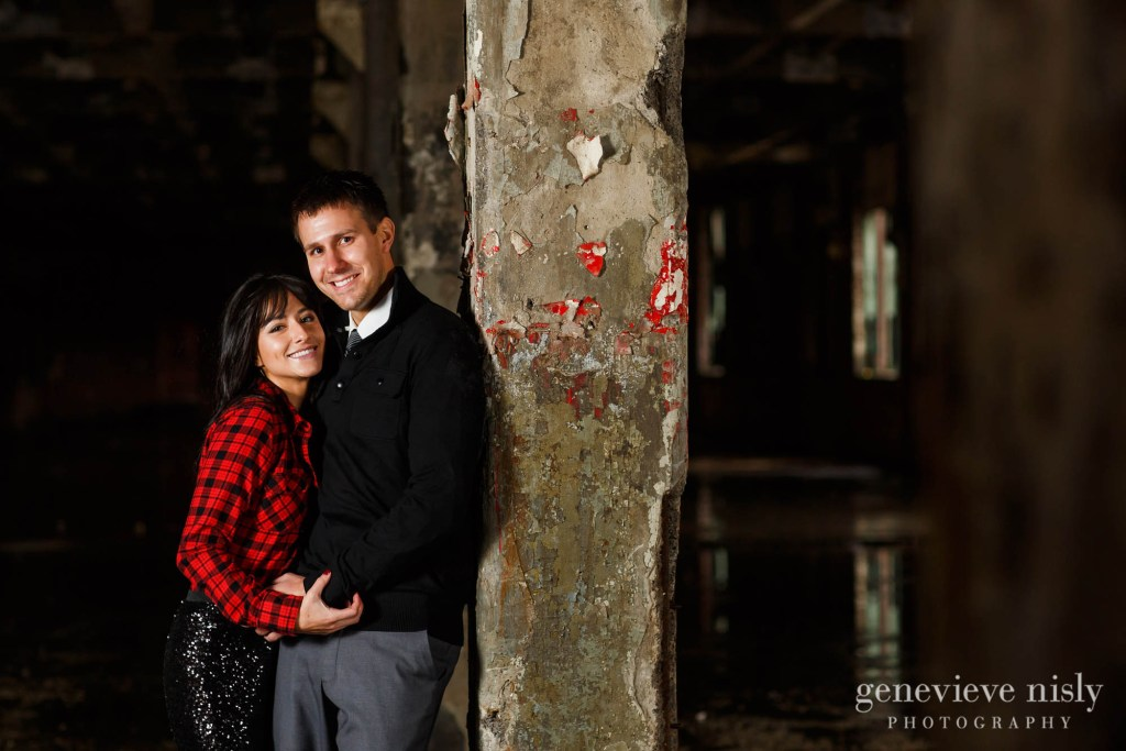 Copyright Genevieve Nisly Photography, Downtown Cleveland, Engagements, Ohio