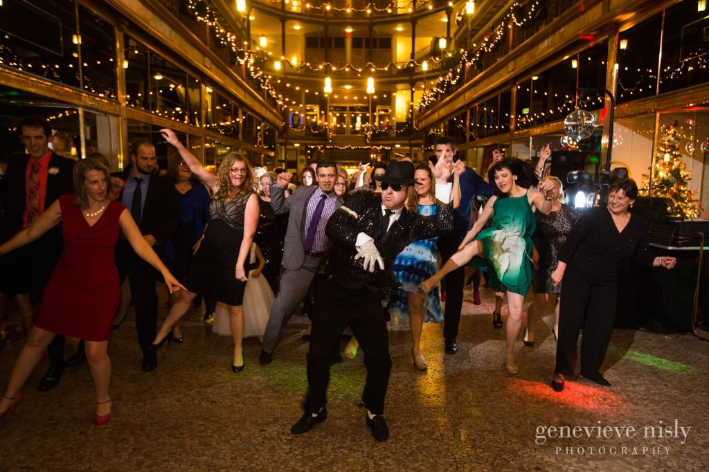 Cleveland, Copyright Genevieve Nisly Photography, Hyatt Arcade, Wedding, Winter