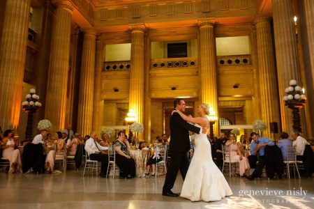 78th Street Studios, City Hall Rotunda, Cleveland, Copyright Genevieve Nisly Photography, Ohio, Spring, Wedding