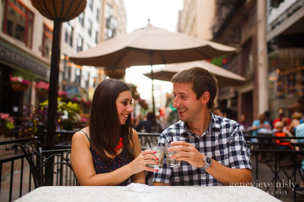 Cleveland, Copyright Genevieve Nisly Photography, East 4th St., Engagements, Summer